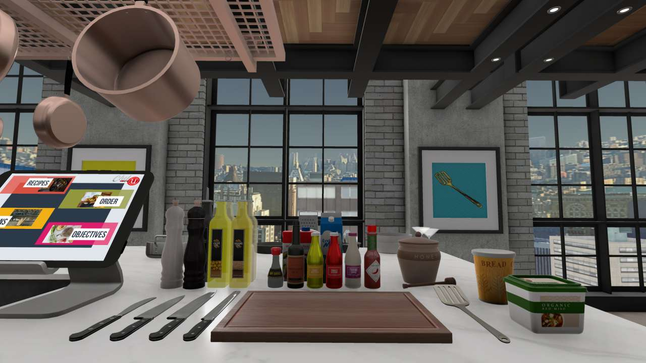 From flipping burgers to pouring cocktails vr restaurant sims built exclusively for virtual reality chefu puts you in your dream kitchen where you never have to wash dishes or clean up after yourself solutioingenieria Gallery
